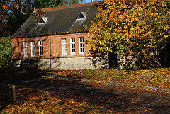 Village hall autumn